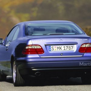 Mercedes-Benz CLK C208 Coupe listwa chromowana
