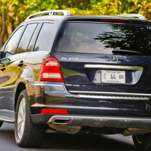 Mercedes-Benz GL X164 listwa chromowana