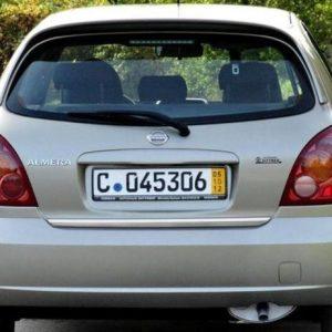Nissan ALMERA MK II listwa chrom