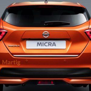 Nissana Micra 2017r listwa chrom