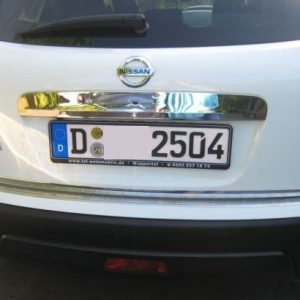 Nissana Qashqaia JJ10 listwa chrom