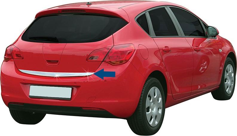 Opel Astra Iv J Hatchback 09 15 Listwa Chrom Chromowana 3m Ochronna Na Klape Bagaznika 1 Chrome Auto