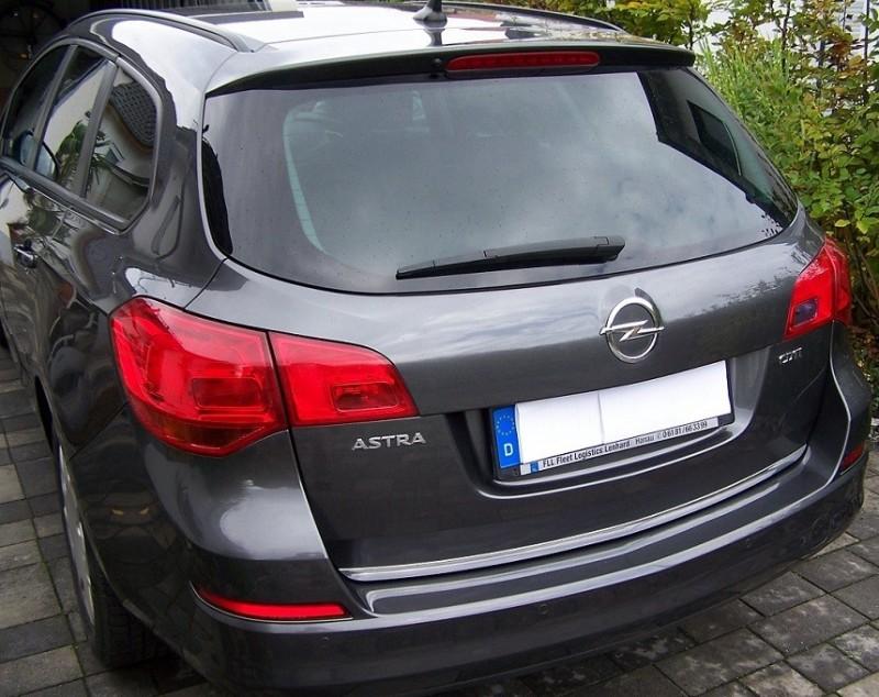 Wybitny Opel ASTRA IV J MK VI Estate - Chrome trolley trunk - Chrome-Auto KX37