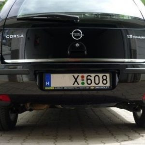 Listwa chrom do Opel Corsa C MK II na tylne drzwi
