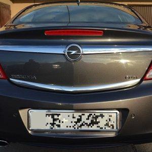 Opel Insignia Hatchback - Listwa chromowana na klapę bagażnika