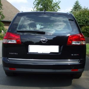 Listwa chrom do Opel Vectra C Kombi - klapa bagażnika