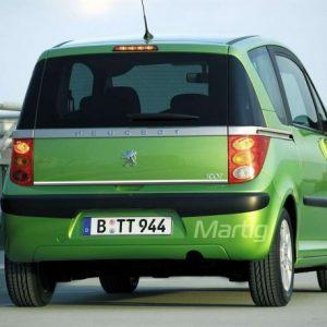 Peugeot 1007 listwa chromowana