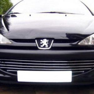 Peugeot 206 HB, SW Kombi listwy chrom