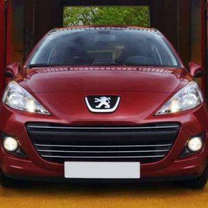 Peugeot 207 listwy chrom