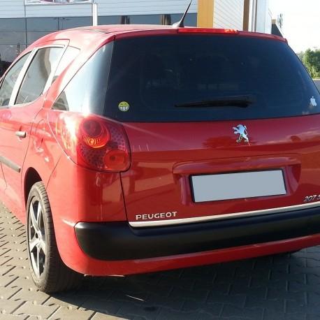 Peugeot 207 Sw Kombi Chrome Plated Trunking Chrome Auto