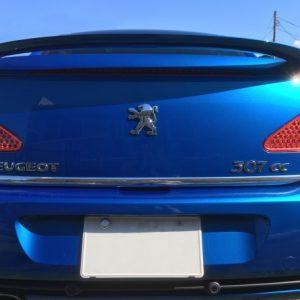 Peugeot 307 CC listwa chrom