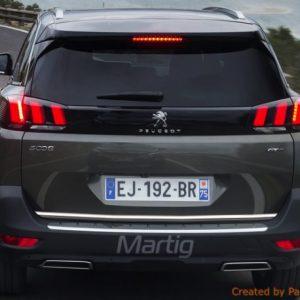 Peugeot 5008 MPV listwa chromowana