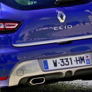 Renault CLIO IV HB listwa chromowana