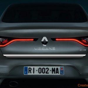 Renault MEGANE IV Sedan listwa chromowana