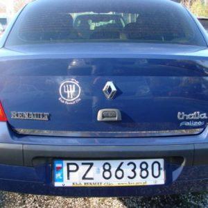 Renault THALIA I listwa chromowana