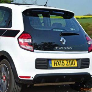 Renault TWINGO III listwa chromowana