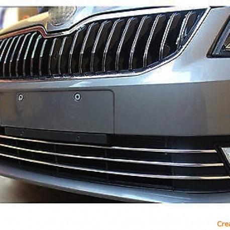 Skoda OCTAVIA II Hatchback / Kombi listwy chromowane