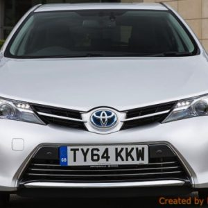 Toyota AURIS II FL listwy chromowane
