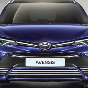 Toyota AVENSIS III T27, T28 FL listwy chromowane