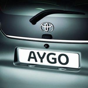 Toyota AYGO I listwa chromowana