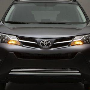 Toyota RAV4 IV FL listwy chromowane