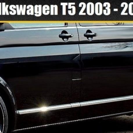 VW Transporter Caravelle Multivan T5 listwy chromowane